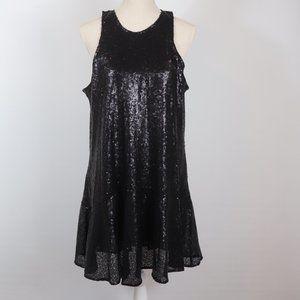 Free People Dresses - Free People Liquid Shine Mini Dress, L